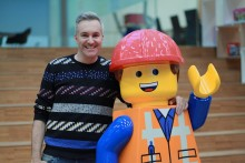 Merseyside toy designer Matthew Ashton was on hand to pick up a children's BAFTA award for The LEGO Movie.