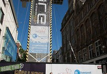 Liverpool's 800ft zip wire could be back in 2015, due to popular demand during a recent trial run.