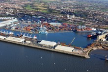 Liverpool's container docks are set to get a new motorway link as part of the government's £15 billion 'road revolution'.