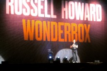 The packed-out Echo Arena was filled with laughter as Russell Howard took to the stage on his Wonderbox tour.