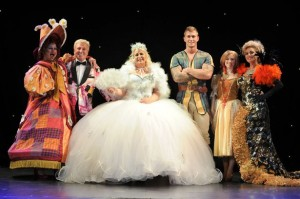 The cast of Jack and the Beanstalk at the Epstein Theatre. Pic © The Epstein Theatre