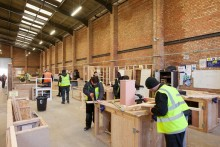 A construction college providing industrial training for up to 70 apprentices has opened in north Liverpool.