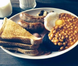 The full English breakfast served up at the Tavern Co. Pic © JMU Journalism