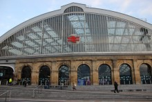 People are being urged to seek alternative routes into the city as no trains are running into or out of Lime Street Station