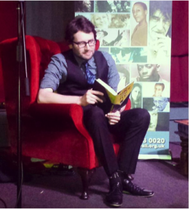 James Rice reading his debut novel