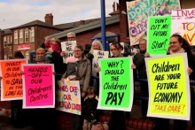 All ten of Liverpool's children's centres which were threatened with closure have been saved for the next two years, after the mayor backs down.