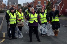 A litter-stricken area of Liverpool is to be cleaned up by a new campaign which was launched at the weekend.