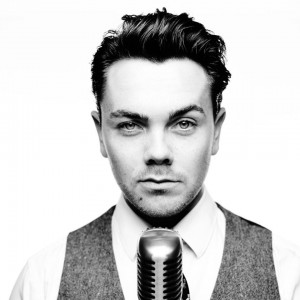 Ray Quinn following his music passion. Pic © Ray Quinn