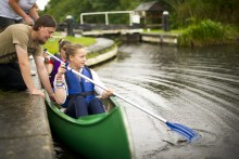 A new canoe trail along the Liverpool and Leeds Canal will be opened in a bid to improve poor health and employment.