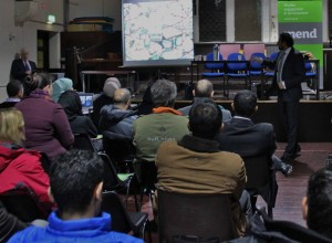 Hate Crime awareness presentation at the Al Ghazali centre Liverpool ©Melissa McFarlane Jmu Journalism