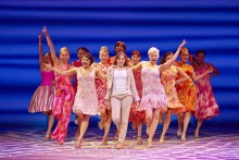 Mamma Mia! Here we go again as the show burst onto the Liverpool Empire stage for a new run.