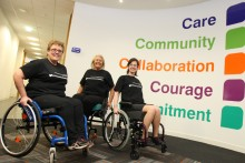 Liverpool NHS staff took part in a 24-hour charity challenge as part of the recent Wheelchair Summit event.