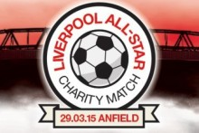 An all-star charity match will be played at Anfield later this month with some of Europe's elite players returning to Liverpool.