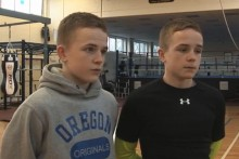 Boxing twins Paul and Patrick Birkenhead talk to JMU Journalism about why they will never fight each other.
