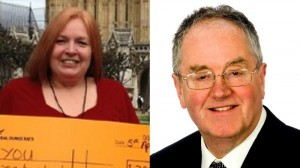 Elizabeth Jewkes is the candidate for the Liberal Democrats while David Scott represents UKIP