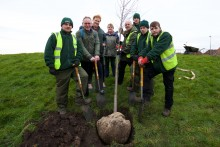 Apprentices from green service provider Glendale Liverpool have planted new trees and hedge plants in Dingle.