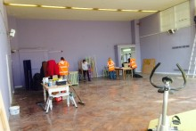 A disused school hall in Birkenhead is being transformed by a women's charity.