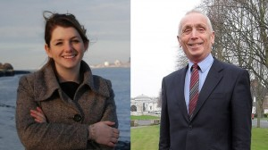 Labour candidate Alison McGovern MP and Conservative challenger John Bell