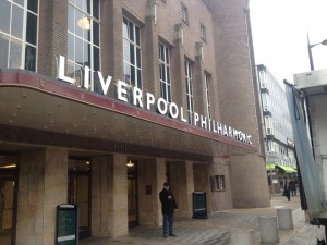 Liverpool Philharmonic Hall. Pic by Josh Handscomb © JMU Journalism
