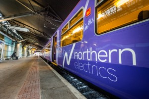 The first new, revitalised train to leave Liverpool. Pic © Network Rail