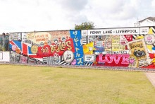 The race is on for funding to be secured to repair and restore the colourful Penny Lane Wonderwall.