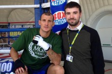 Derry Mathews pledged to deliver a world title to the city when he fights Ismael Barroso at the Echo Arena.