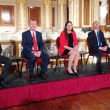 Representatives of the five largest parties in the UK clashed during Granada Reports' live election debate at Liverpool's St George's Hall.