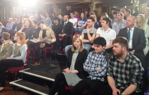 The audience for the General Election debate at St George's Hall. Pic by Connor Dunn / JMU Journalism