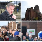 Howard Kendall's funeral at Liverpool's Anglican Cathedral. Pics by Leigh Kimmins © JMU Journalism