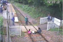A stark warning has been issued to Merseyside rail users to highlight the dangers of playing on train tracks.