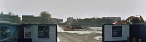 Construction work on Great Homer Street Retail Park © Google Street View