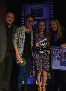 Christy Mac, Winner of last year's Best Achiever Award © Clapperboard UK