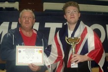 A Merseyside teenager has risen to prominence again after collecting his fourth world powerlifting title.