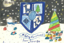 Christmas has come early this year for one youngster, who has won Tranmere Rovers' card competition.