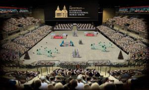 Mock-up of what the arena will look like. Pic © Bolesworth International
