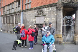 Bradbury Fields Walking group for Visually Impaired and the Blind Pic © FACT