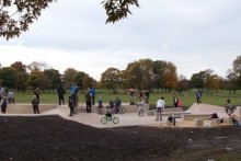 Newsham Park welcomed a new addition to its grounds as Mayor Joe Anderson opened the fifth Action Sports Hub.