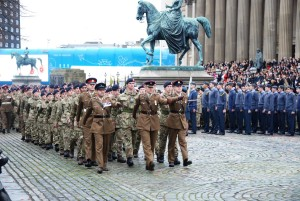 Remembrance Sunday 2015 in Liverpool. Pic by Ryan Jones © JMU Journalism