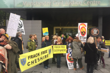 A protest group has been told to move on from its base after losing a court battle over its future.