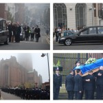 The funeral of PC Dave Phillips. Pics © JMU Journalism
