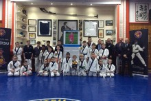 A life-saving defibrillator has been presented to a Liverpool Ju-Jitsu club as part of a city-wide initiative.