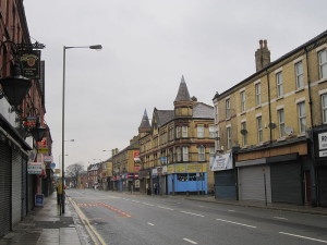 Smithdown Road's student community may switch to new city centre accommodation options. Pic © Rept0n1x / Wikimedia Commons