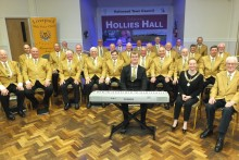 The Liverpool Male Voice Choir can sing their own praises after earning a top civic honour