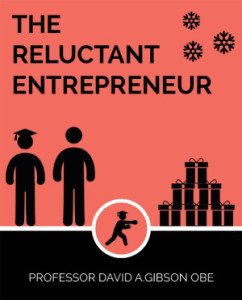 Christmas book, The Reluctant Entrepreneur. Pic by © David Gibson