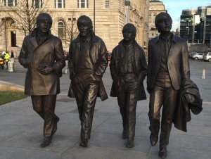 New Beatles statue at Pier Head. Pic by Jenny Kirkham © JMU Journalism