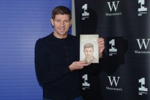 Kop hero Steven Gerrard was back in Liverpool at LJMU signing copies of his new autobiography, 'My Story'.