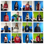 JMU Journalism Christmas Jumpers Newsdays 2015