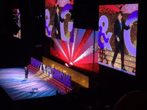 Michael McIntyre came to Liverpool Echo Arena last weekend. Pic © Kamara Samuels/ JMU Journalism