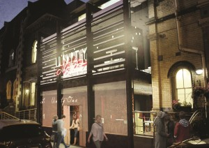 Unity's potential new entrance © Unity Theatre