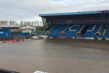 A donation page set up by Everton fans to help flood-hit opponents Carlisle United has raised more than £9,000.